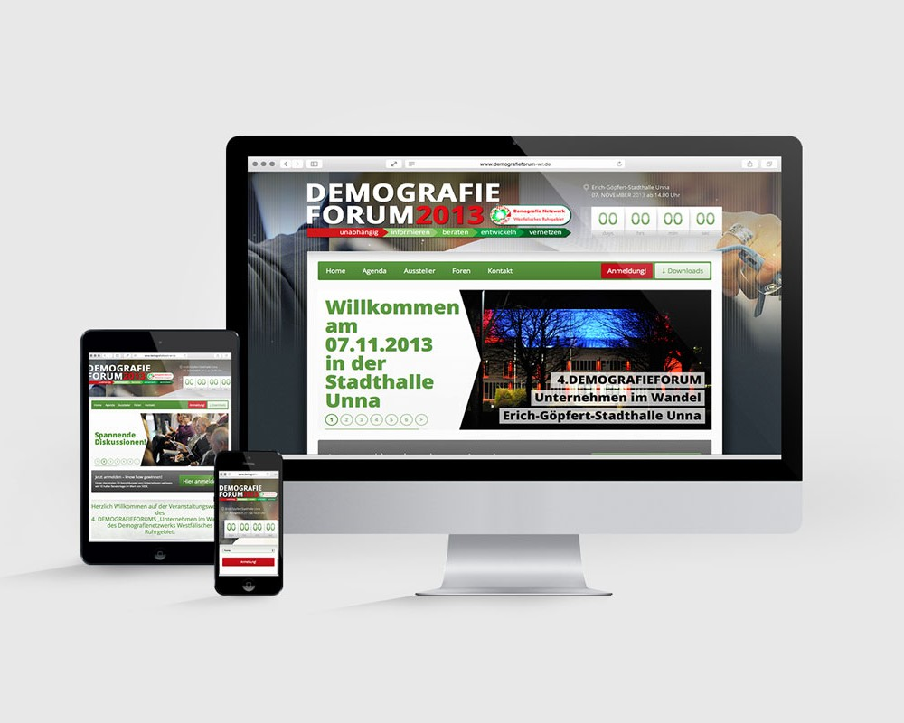 DEMOGRAFIEFORUM WR // WEB