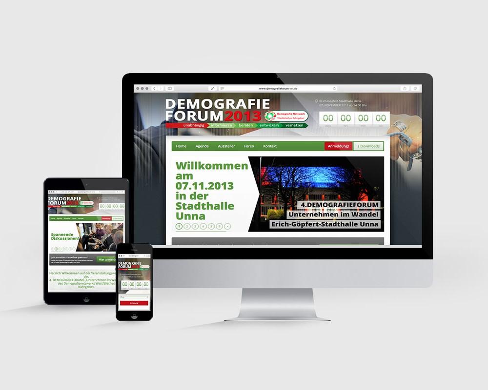 DEMOGRAFIEFORUM WR // WEB