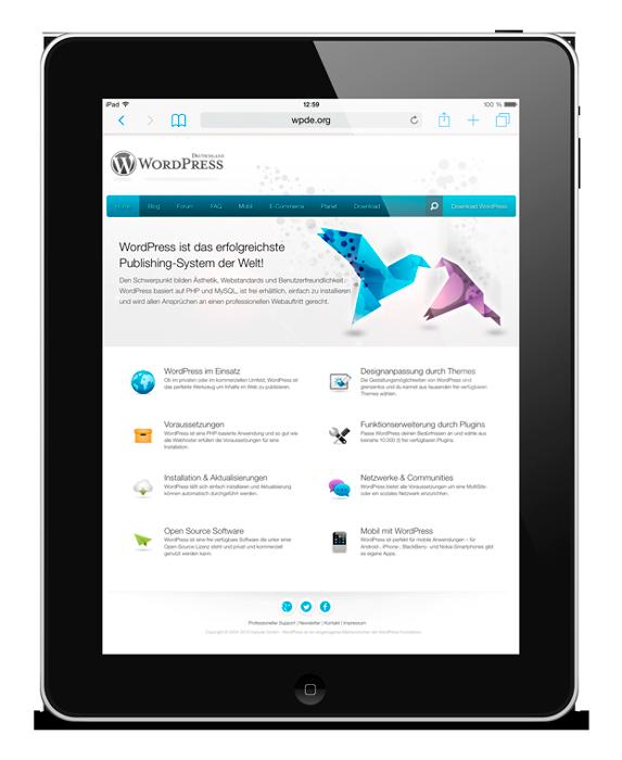 Webdesign bei communiandcate